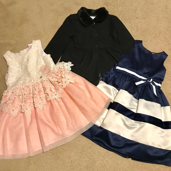 Gymboree 3T Ballet Class Rose Print Floral Flower Dress Tulle NWT